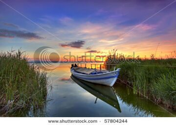 stock-photo-the-boat-in-the-landscape-of-colors-57804244