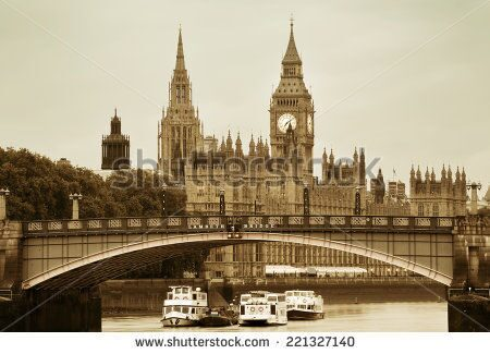 stock-photo-westminster-palace-and-bridge-over-thames-river-in-london-in-black-and-white-221327140