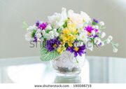 stock-photo-bouquet-flower-in-vase-190086719