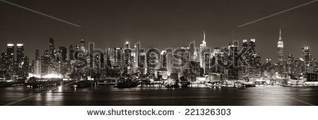 stock-photo-midtown-manhattan-skyline-in-black-and-white-at-dusk-panorama-over-hudson-river-22132630