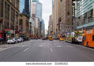 stock-photo-new-york-city-usa-th-august-a-view-down-seventh-avenue-towards-time-square-showing-lots-221901511