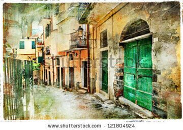 stock-photo-pictorial-old-streets-of-italy-artistic-picture-121804924