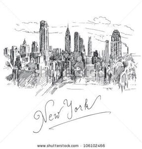stock-vector-new-york-hand-drawn-collection-106102466