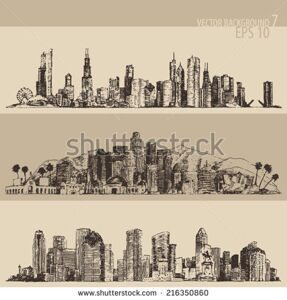 stock-vector-chicago-los-angeles-houston-big-city-architecture-vintage-engraved-illustration-hand-drawn-216350860