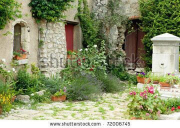 stock-photo-view-on-a-typical-rustic-provence-garden-in-france-72006745