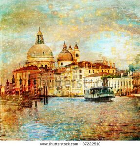 stock-photo-mystery-of-venice-artwork-in-painting-style-37222510