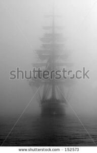 stock-photo-ship-in-fog-black-and-white-photo-152573