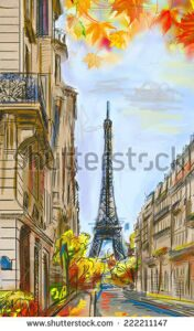 stock-photo-street-in-autumn-paris-eiffel-tower-sketch-illustration-222211147