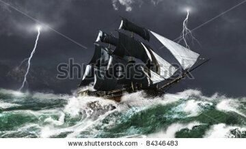 stock-photo-tall-ship-sailing-in-heavy-seas-in-a-lightning-storm-d-digitally-rendered-illustration-84346483
