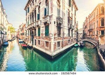 stock-photo-romantic-scene-in-venice-italy-with-retro-vintage-instagram-style-filter-effect-192567464