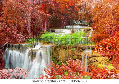 stock-photo-hui-mae-khamin-waterfall-in-deep-forest-thailand-199587698