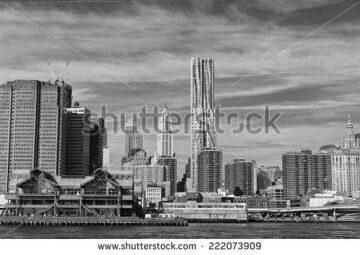 stock-photo-new-york-manhattan-view-in-black-and-white-from-east-river-222073909