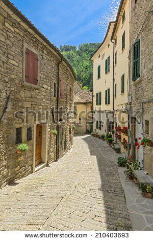 stock-photo-is-a-typical-italian-street-in-the-a-small-provincial-town-in-tuscany-italy-europe-21040