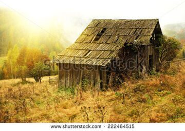 stock-photo-old-house-in-hills-in-mountains-at-autumn-222464515
