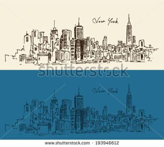 stock-vector-new-york-city-architecture-vintage-engraved-illustration-hand-drawn-193946612