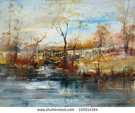 stock-photo-landscape-with-trees-and-water-level-oil-painting-155514164