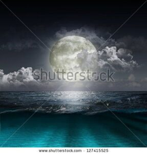 stock-photo-magical-evening-on-the-ocean-and-the-moon-127415525