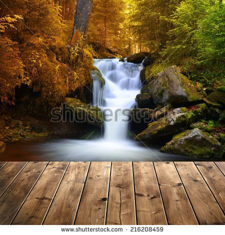 stock-photo-autumnal-landscape-with-waterfall-216208459