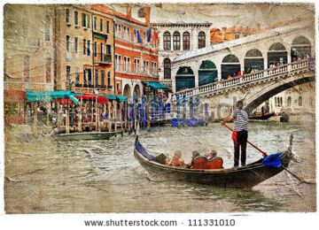 stock-photo-beautiful-venice-artwork-in-painting-style-111331010