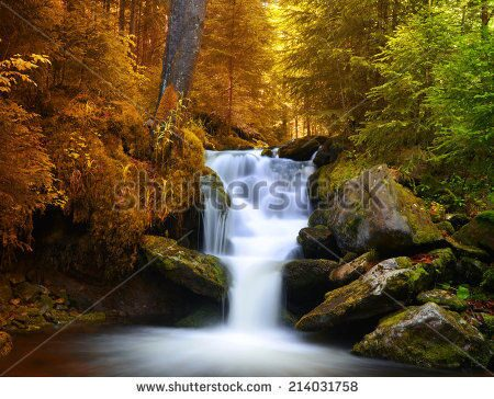 stock-photo-autumnal-landscape-with-waterfall-214031758