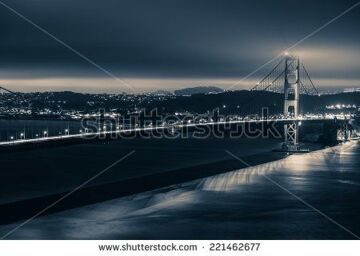 stock-photo-golden-gate-night-theme-golden-gate-bridge-and-san-francisco-panorama-in-dark-blue-color-grading-221462677