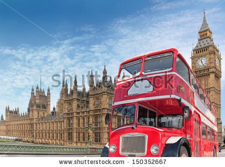 stock-photo-red-double-decker-for-parlament-london-150352667