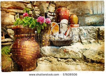 stock-photo-pictorial-courtyards-of-greece-57608506