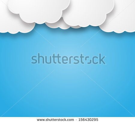 stock-photo-illustration-of-a-beautiful-fluffy-empty-clouds-on-a-blue-background-156430295