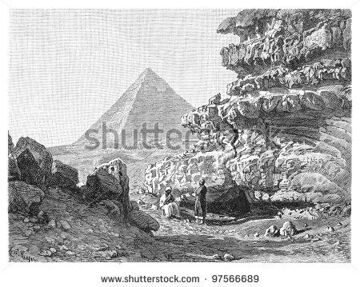 stock-photo-great-pyramid-of-giza-vintage-illustration-from-meyers-konversations-lexikon-97566689