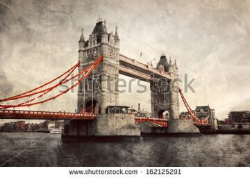 stock-photo-tower-bridge-in-london-england-the-uk-artistic-vintage-retro-style-with-red-elements-162125291
