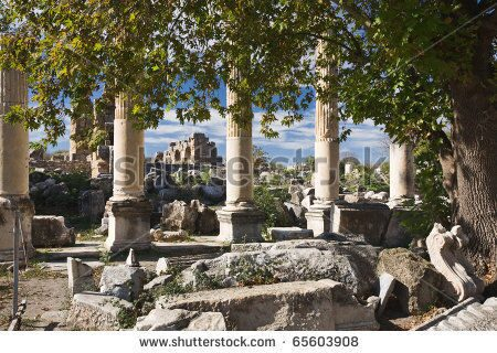 stock-photo-ionian-columns-in-aphrodisias-geyre-turkey-polarizing-filter-applied-65603908