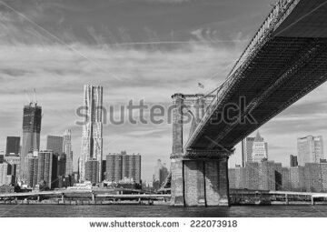 stock-photo-new-york-manhattan-view-in-black-and-white-from-east-river-222073918