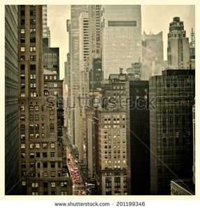 stock-photo-rush-hour-on-nd-street-in-new-york-city-with-instagram-effect-filter-201199346