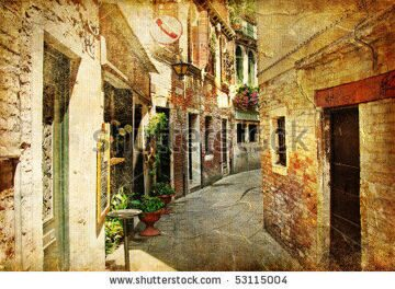 stock-photo-venetian-streets-artwork-in-painting-style-53115004