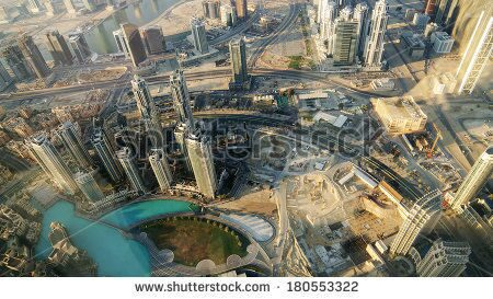stock-photo-downtown-of-dubai-united-arab-emirates-in-the-morning-downtown-dubai-previously-known-as