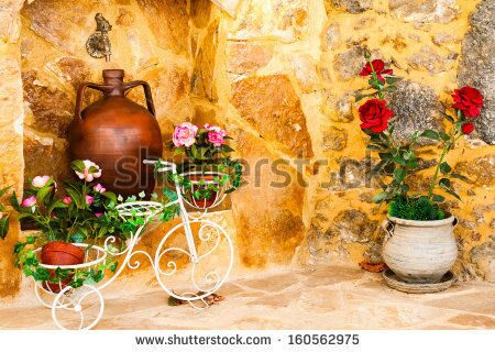 stock-photo-charming-entrance-of-courtyard-of-old-mediterranean-village-spili-160562975 (1)
