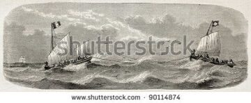 stock-photo-lifeboats-sailing-after-french-vessel-imperatrice-du-bresil-shipwreck-created-by-lebreton-90114874