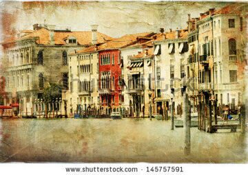 stock-photo-venice-artwork-in-painting-style-145757591
