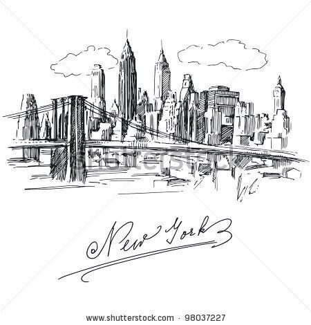 stock-vector-new-york-hand-drawn-metropolis-98037227